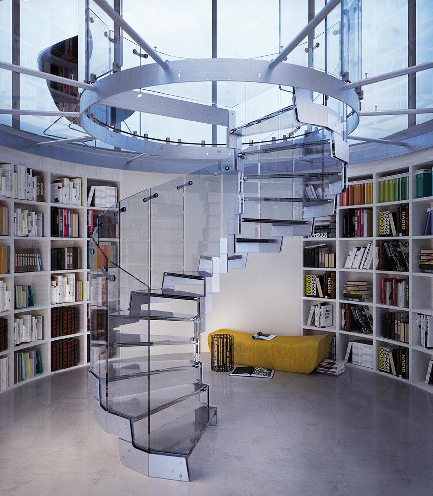 elico dale en acier escaliers cover elica executive. Black Bedroom Furniture Sets. Home Design Ideas